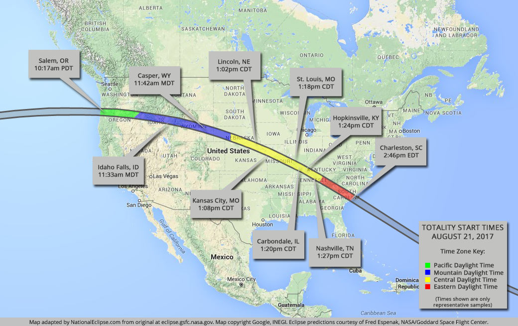 Total Solar Eclipse A Must See Flightworks - Solar map us
